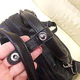 Черный молодежный рюкзак городской, фото 8