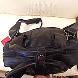 Черный молодежный рюкзак городской, фото 9