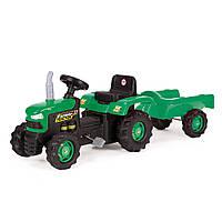 Детский трактор на педалях WADER 3+