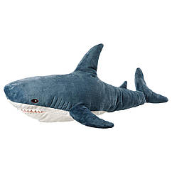 IKEA Акула (303.735.88) Мягкая игрушка, акула 100 см