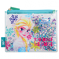 Пенал-косметичка YES с блестками Frozen (532634)