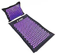 Набор Аппликатор Кузнецова Пранамат массажный коврик и подушка массажер для спины OSPORT Pranamat (apl-777)