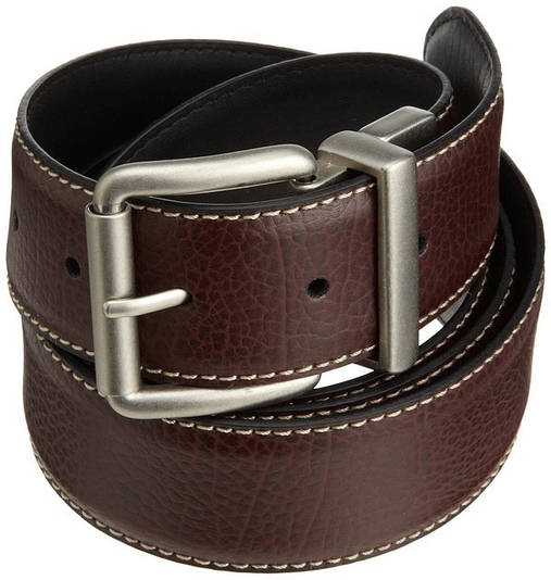 Ремень Levi's Men's Big And Tall Brown To Black Reversible Belt