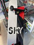 """Скейт деревянный, Скейтборд """" Sky """" , натуральный канадский клен, дека 79х20 см, супер качество, фото 5"""