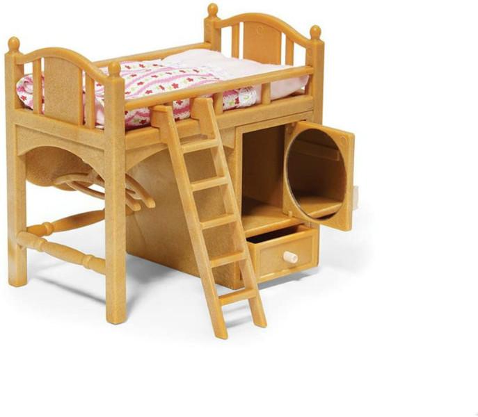 Sylvanian Families Calico Critters Детская кроватка со шкафом 2618 Loft Bed