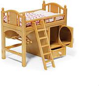 Sylvanian Families Calico Critters Детская кроватка со шкафом 2618 Loft Bed, фото 1