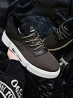 Мужская фирменная обувь Lacoste Khaki/White, фото 1