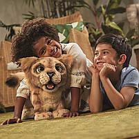 Мягкая интерактивная игрушка Дисней Король Лев Симба Hasbro Disney Lion King Simba англ. язык (E5679), фото 4