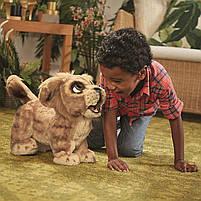 Мягкая интерактивная игрушка Дисней Король Лев Симба Hasbro Disney Lion King Simba англ. язык (E5679), фото 10