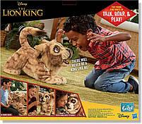 Мягкая интерактивная игрушка Дисней Король Лев Симба Hasbro Disney Lion King Simba англ. язык (E5679), фото 3