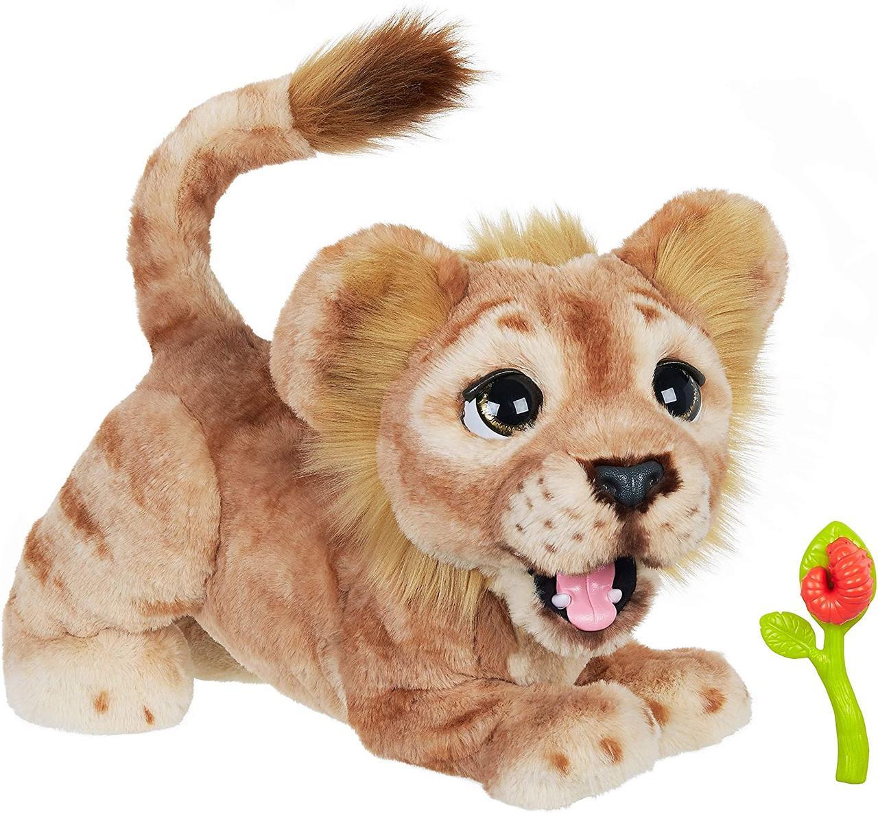 Мягкая интерактивная игрушка Дисней Король Лев Симба Hasbro Disney Lion King Simba англ. язык (E5679)