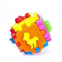Логический куб-сортер, с животными  50-102 Kinderway