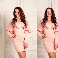 Женское Платье ПОШИВ на заказ Р.40-54 *Разные Цвета*