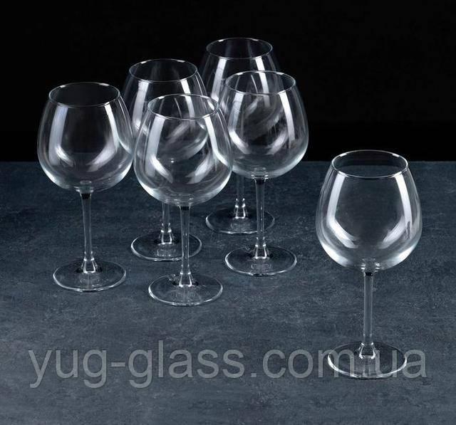 Большой круглый бокал для вина