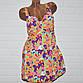 Купальник платье, размеры 64, 66, 68, 70, 72, яркие узоры, женский танкини, фото 3