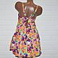Купальник платье, размеры 64, 66, 68, 70, 72, яркие узоры, женский танкини, фото 2