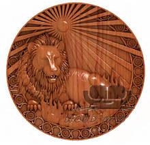 Резные львы из дерева и мдф под заказ любых форматов