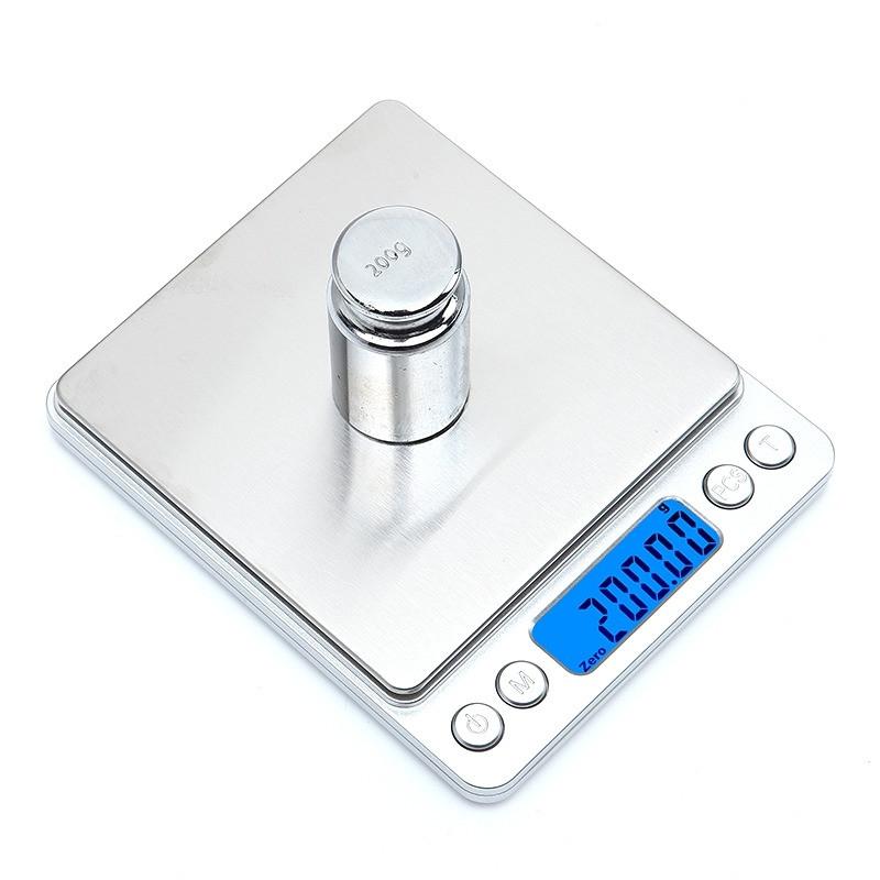 🔝 Карманные электронные высокоточные ювелирные, кухонные весы до 500 гр  scale i-2000 | 🎁%🚚