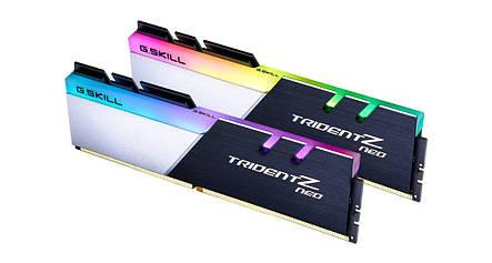 Модуль памяти DDR4 2х32GB/3600 G.Skill Trident Z Neo (F4-3600C18D-64GTZN), фото 2