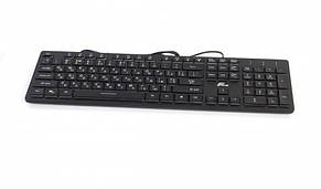 Клавиатура Frime Moonfox 3Color Black USB RUS/UKR (FLK18210), фото 2