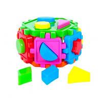 Сортер-шестигранник с геометрическими фигурами 50-103 Kinderway