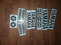 Наклейки Yamaha винил Качественные