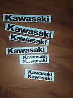 Наклейки Kawasaki винил Качественные