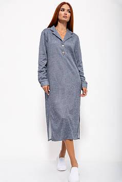 Платье женское 115R348 цвет Сине-серый