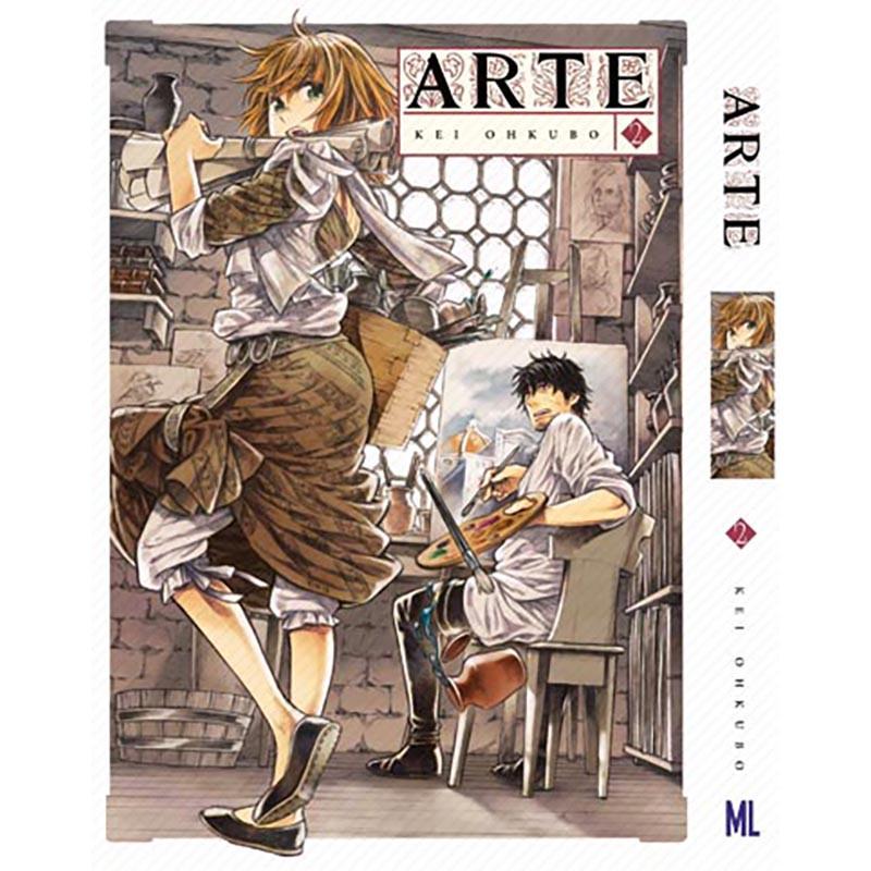 Манга Арте Том 02 | Arte