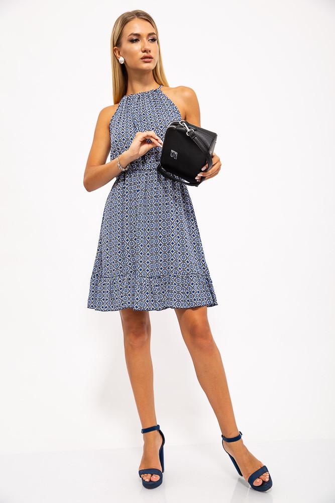 Платье 115R408 цвет Синий