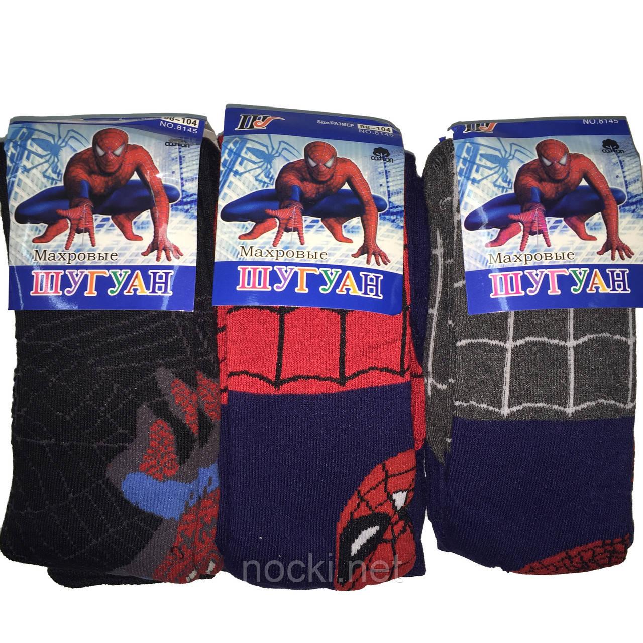 Колготки дитячі махра Шугуан Spider man (Людина-павук) ріст 98-104
