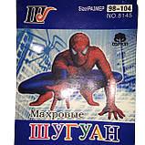 Колготки дитячі махра Шугуан Spider man (Людина-павук) ріст 98-104, фото 4