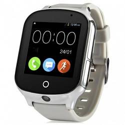 Детские Умные Смарт Часы-телефон с GPS  Baby Smart Watch A19 Original Серые (Sm)