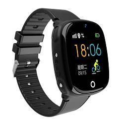 Детские Умные Смарт Часы-телефон с GPS  Baby Smart Watch Hw11 Original Aqua Plus с Водозащитой Черные
