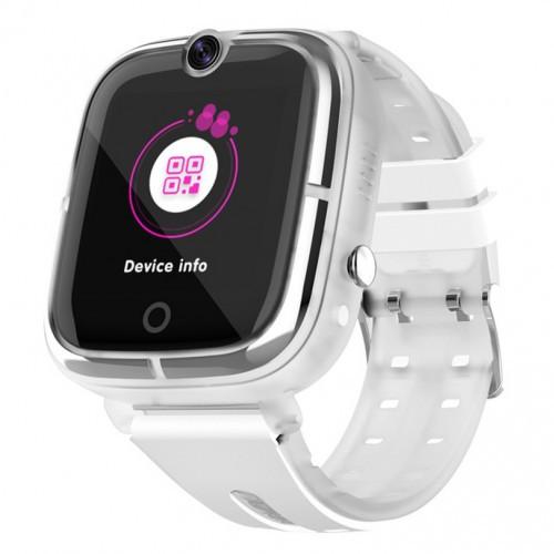 Дитячі Розумні Смарт Годинник-телефон з GPS Baby Smart Watch Df44 Original Білі