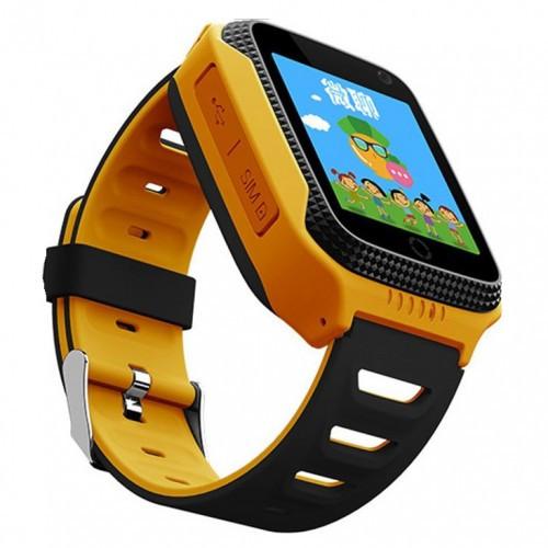 Детские Умные Смарт Часы-телефон с GPS Baby Smart Watch G900A+ (Q65/t7) Желтые (S)