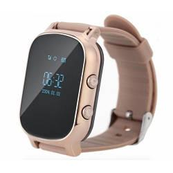 Детские Умные Смарт Часы-телефон с GPS Baby Smart Watch T58+ Original Золотые (Sm)