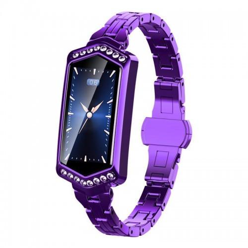Умный фитнес браслет Smart Band PRO B78 фиолетовый