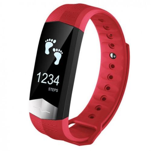 Умный фитнес браслет Smart Band PRO Cd01 с тонометром красный (sm)