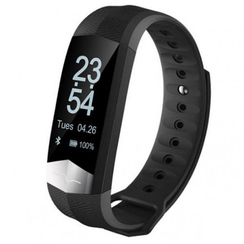 Умный фитнес браслет Smart Band PRO Cd01 с тонометром черный (sm)