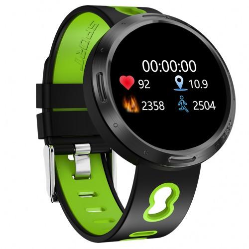Умный фитнес браслет Smart Band PRO M58 тонометр черно-зеленый