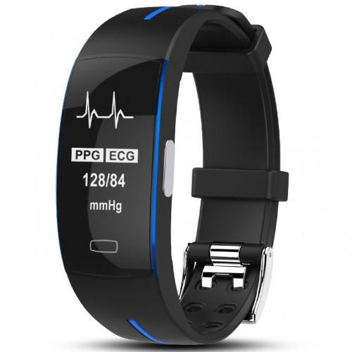 Умный фитнес браслет Smart Band PRO P3 черно-синий (sm)