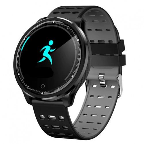 Умный фитнес браслет Smart Band PRO P71 черно-серый