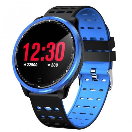 Умный фитнес браслет Smart Band PRO P71 черно-синий