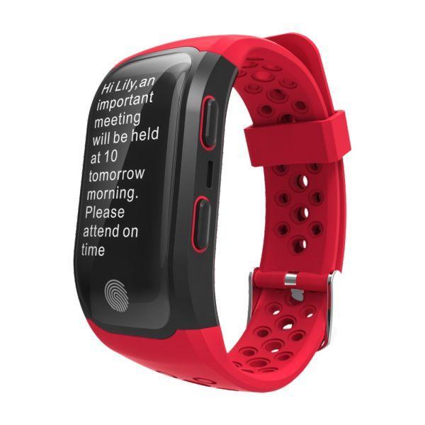 Розумний фітнес-браслет Smart Band Pro S908 Original Max Edition Червоний
