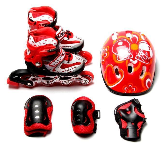 Комплект Happy із захистом Червоний розмір 34-37