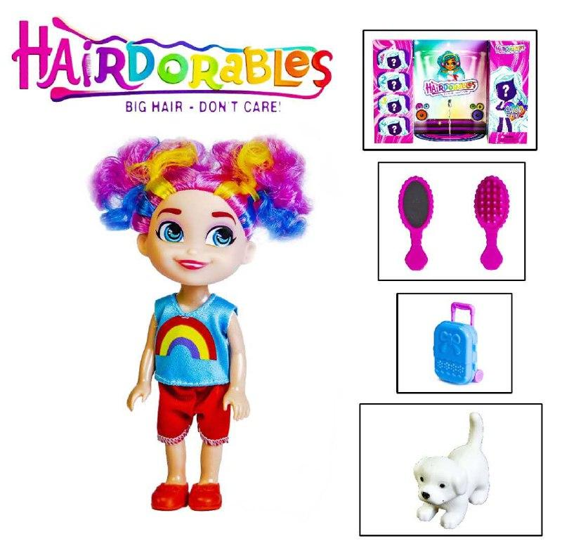 Кукла Hairdorables, 2 сезон оптом