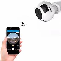 Панорамная WiFi IP Цифровая поворотная камера видеонаблюдения для дома через интернет FV-938 с записью на SD