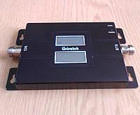 Дводіапазонний репітер підсилювач LTK-1560-GW GSM 900 + 3G 2100 MHz з 2-ма дисплеями, 100-200 кв. м.