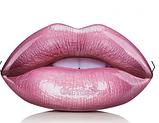 Набор для губ карандаш помада блеск коробка металл губки розовая GlamBee глемби, фото 7